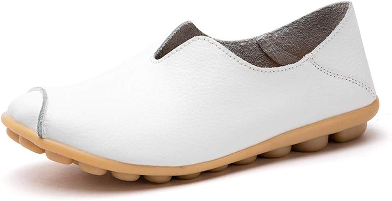 Drew Toby Women's Flats,Simple Anti-Slip Spring Multicolor Slip-on Oxfords-shoes