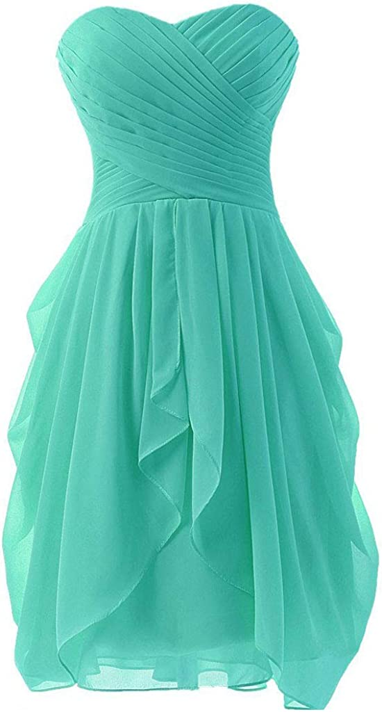 Uther Bridesmaid Dresses Short Prom Dress for Women Formal Party Homecoming Dress