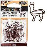 Sheepworld - 45723 - Büroklammern 8 Stk, Lama, Metall, 11,3cm x 5,7cm