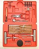 ProSpark Kit Profesional de 87 PCS para Reparar PINCHAZOS Ruedas Neumaticos Coche Tubeless Sin Camara de Alsace&Concept