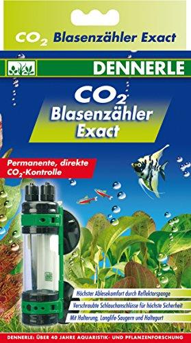 Dennerle Test de Qualité d'eau pour Aquariophilie Compte Bulles Co2 Exact