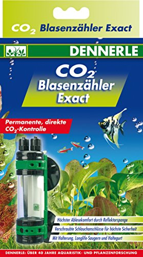 Dennerle CO2 Blasenzähler exact - permanente, direkte CO2-Kontrolle