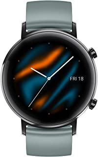HUAWEI Watch GT 2 (42 mm) Smart Watch, 1.2 Inch AMOLED Display with 3D Glass Screen, 1-Week Battery Life, GPS, 15 Sport Mo...