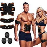 Antmona Abs Stimulator, Muscle Toner - Abs Stimulating Belt- Abdominal Toner- Training Device for...
