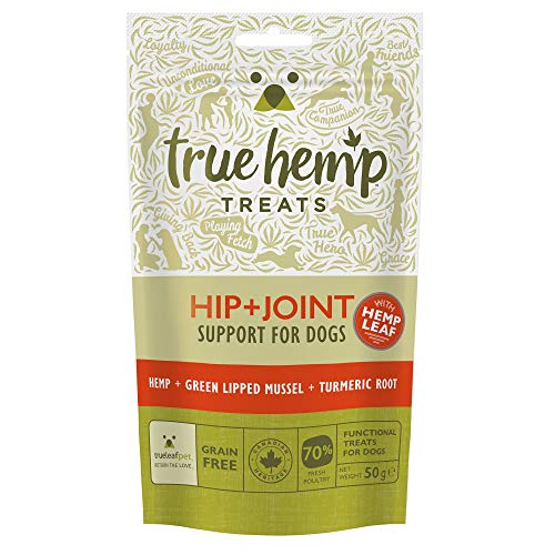 True Hemp Treats Hip + Joint – Articulación de la cadera y cuidado – 50 g