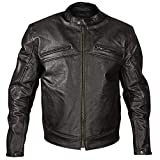 Best Xelement Armored Motorcycle Jackets - Xelement XSPR105 Men's 'The Racer' Black Armored Leather Review