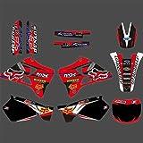 Bicicleta Motocross Pegatinas Fondo por Completo de gráficos Adhesivos Pegatinas Motocicleta for Yamaha YZ125 YZ250 YZ 125 YZ 250 1996 1997 1998 1999 2000 2001