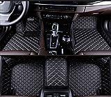 FFHJHJ Alfombrillas De Cuero para Coche Compatible con BMW 8 Series (4door) 2019, Revestimientos De Suelo Impermeables para Todo Tipo De Clima