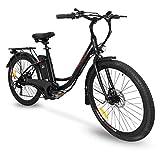 Bici Elettrica Ebike 250W Bicicletta Elettrica per Adulti 26'Bici Elettrica Cruiser/City bike...