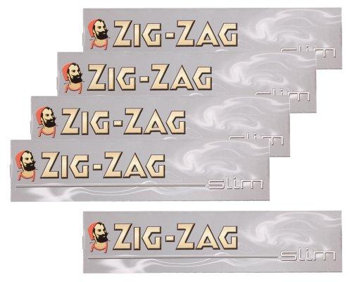 柘製作所(tsuge) ジグザグ シルバースリム 【スローバーニング ・ 32枚入り】 #78835 ×5パック