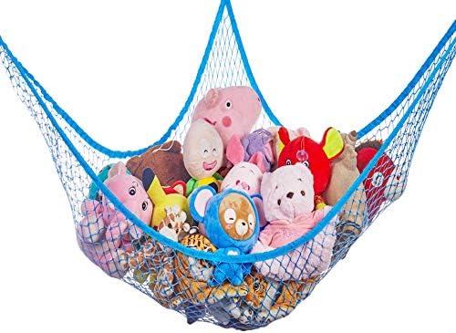 Stuffed Animals Net or Hammock G Helper 70 inch Corner Net for Stuffed Animals for Wall Jumbo product image