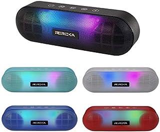 $39 » Sponsored Ad - Led Bluetooth Speaker, REROKA Night Light Changing Colors Wireless Portable Mini Speaker with Strap, USB Po...