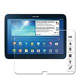 Ganvol Film de Protection en écran en Verre Trempé pour Tab 3 10.1 Pouces GT-P5200 (3G & WiFi) 2013 / GT-P5210 / GT-P5220 (LTE, 3G & WiFi)