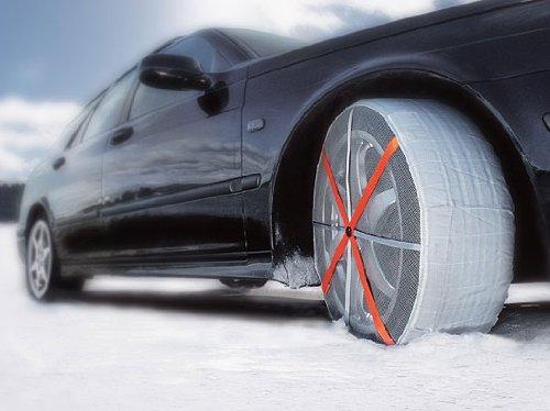 Chaussettes autosocken textilschneeketten voiture auto chaînes à neige taille 54