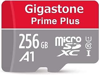 Gigastone Micro SD Card 256GB Micro SDXC A1 V10 U1 C10 High Speed Memory Card Class10 UHS-I