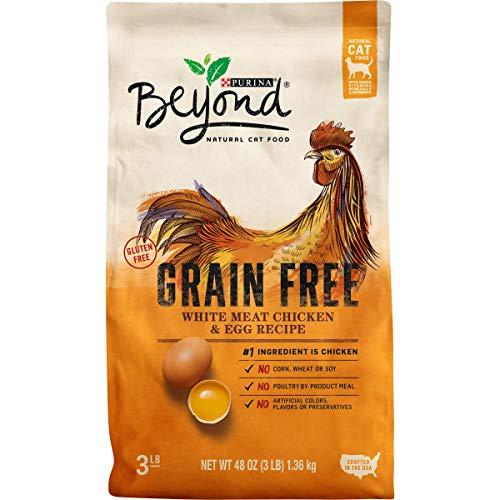Purina Beyond Natural Dry Cat Food, Grain Free, White...