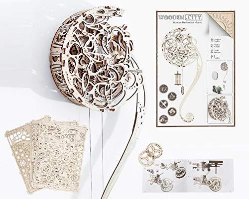 3D-Holzfunktionsbausätze Pendulum Clock by WOODEN.CITY   3D-Puzzle