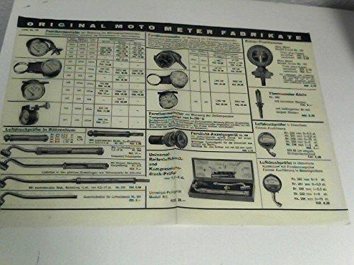 Original Moto-Meter Fabrikate