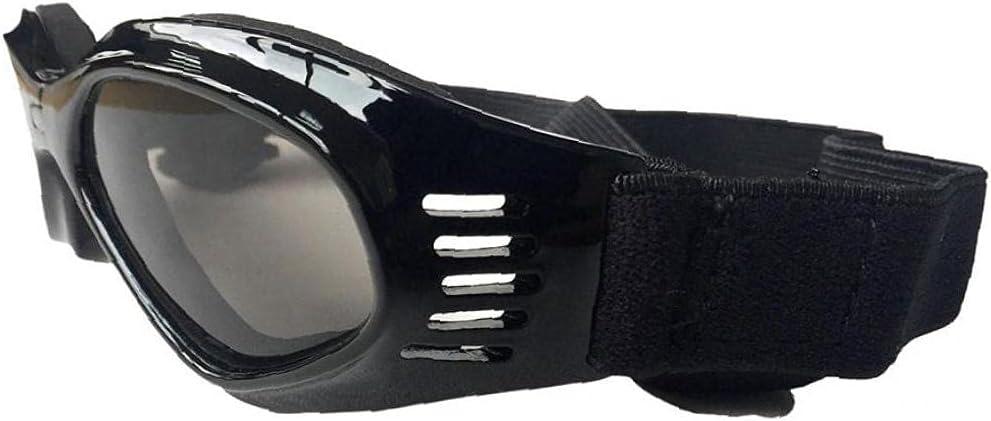 Naisicatar Gafas de Sol para Perros Protección UV Gafas de Mascotas A Prueba de Viento A Prueba de Viento Gafas de Sol Impermeables para pequeños Perros de Perrito de Perros de Perros