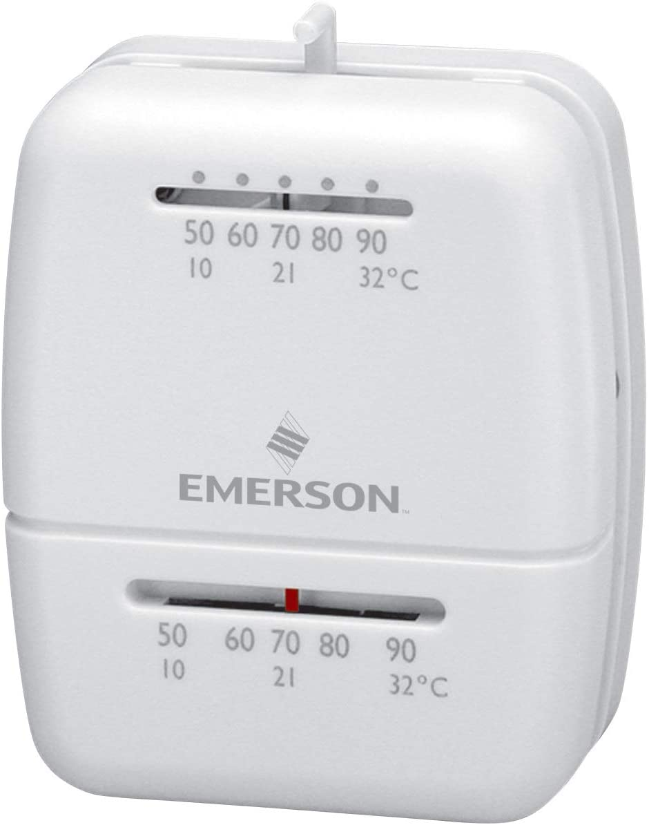 Emerson 1C20-102 Gas Bargain sale Oil And Electric Thermostat San Francisco Mall