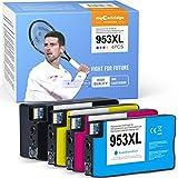 MyCartridge PHOEVER Cartuchos de tinta remanufacturados 953XL 953XL para impresoras HP Officejet Pro 8710 8720 7740 8715 8210 8725 (4 unidades)