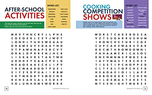 Word for Word: Pop Culture Puzzles: Word Search Book for Kids ages 9-12