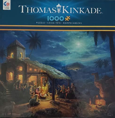The Nativity 1000 Piece Jigsaw Puzzle by Thomas-Kinkade