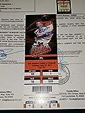 Mike Trout Autographed Signed Inscription 1st MLB Hr Home Run Ticket Stub JSA Loa COA