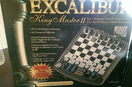 Excalibur Electronic 911E-2 Kingmaster II Chess Computer