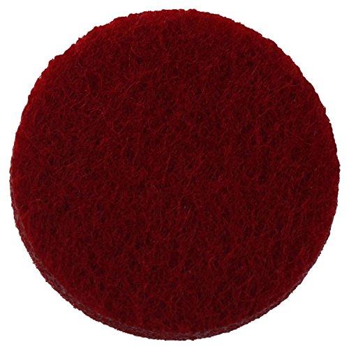 Huante (120 paquetes de almohadillas de repuesto para collar de difusor de aromatherapy/grueso/lavable/muy absorbente para collar con colgante difusor de ar?)