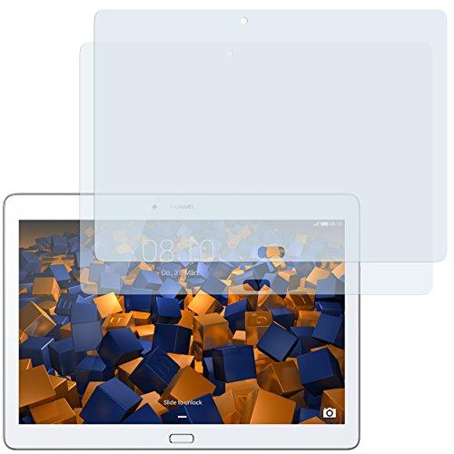 mumbi Schutzfolie kompatibel mit Huawei MediaPad M2 10.0 Folie klar, Bildschirmschutzfolie (2X)