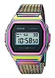 Orologio donna Casio digitale Vintage Series multicolor A1000PRW-1ER