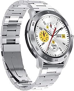 Reloj Inteligente 1.3 Pantalla Redonda 300Mah Batería Larga Espera Bluetooth Llamada Corazón Frecuencia Pulsera Deportiva Plata