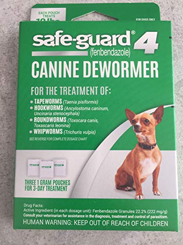 8 in 1 Safe-guard 4 Dewormer for Small Dogs