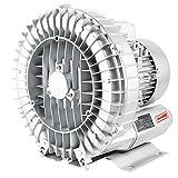 YXWJ Blower Wmarking UK Ventilatore Vortex ad Alta Pressione, soffiante e aspirante, Motore Tutto in Rame, centrifuga silenziosa con Guscio in Alluminio