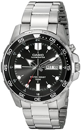 Casio Men's MTD-1079D-1AVCF Super Illuminator...
