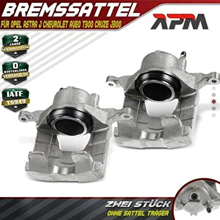 2x Bremssattel Vorne Links Rechts Für Astra J Cc Aveo T300 Cruze J300 2011 2018 344541 Auto