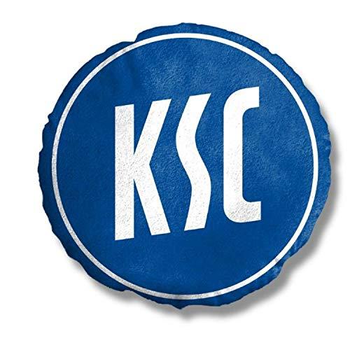 Karlsruher SC Kissen Nickikissen Dekokissen Logo 3D KSC