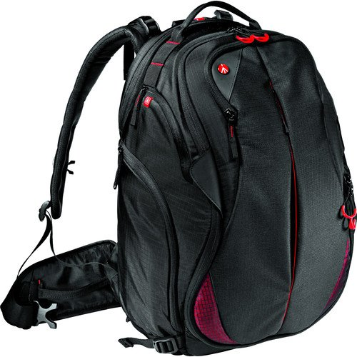 """Manfrotto Bumblebee-230 PL Camera Bag Backpack for Mirrorless, DSLR, Professional Video Cameras and Equipment, Pocket for a 17"""" PC, Internal Separator System"""