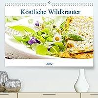 Koestliche Wildkraeuter (Premium, hochwertiger DIN A2 Wandkalender 2022, Kunstdruck in Hochglanz): Tolle Wildkraeuter Gerichte fuer jeden Monat. (Monatskalender, 14 Seiten )