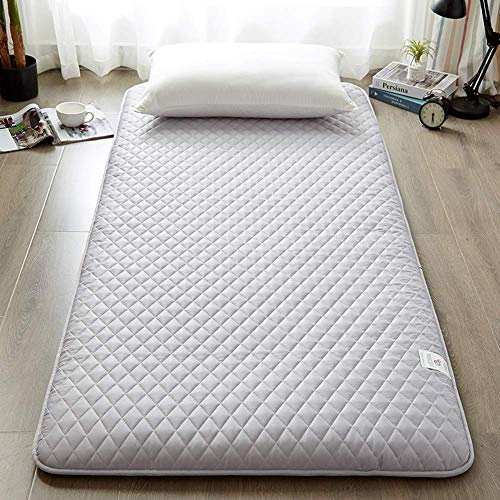 GLF Japanese Futon Mattress Thick Foldable Mattress Cover Mattress Pad Tatami Mat Japanese Bed Mat Easy to clean Rolls-up Double Single Mattress D 180x200cm (71x79in)