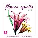 2021 Flower Spirits  Radiographs of Nature by Steven N. Meyers 16-Month Wall Calendar