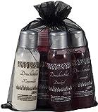 Gothic-Set'Drachenblut' mit Cremeseife, Duschgel, Körpermilch und Schaumbad