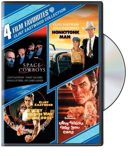 Clint Eastwood Comedy: 4 Film Favorites [Reino Unido] [DVD]