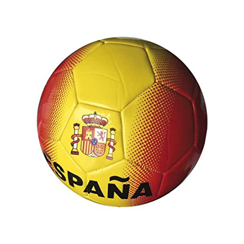 Junatoys spaña Ball Fußball, Herren, Rot/Gelb, Einheitsgröße