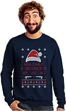 Now I Have a Machine Gun Ho-Ho-Ho Ugly Christmas Sweater Sweatshirt
