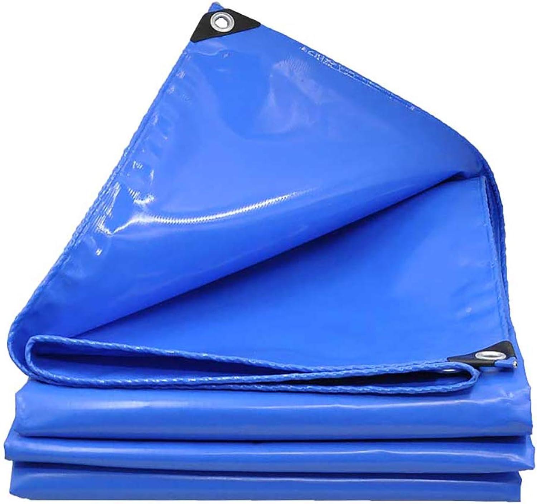 JNYZQ Hochfeste, Blaue PVC-Plane Wasserdichte Sonnenschutzplanen DREI Anti-Stoff-Scrape-Schuppen Tuchüberdachung Hochleistungsplanen, 600g   m² (größe   5x5M) B07LGVH728  Im Freien