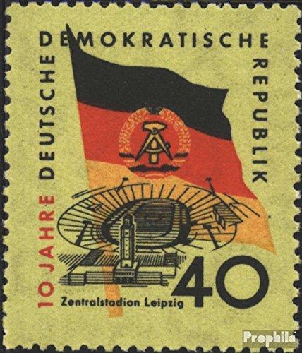 Prophila Collection DDR 727X geprüft, seltenes Wasserzeichen postfrisch 1959 10 Jahre DDR (Briefmarken für Sammler)