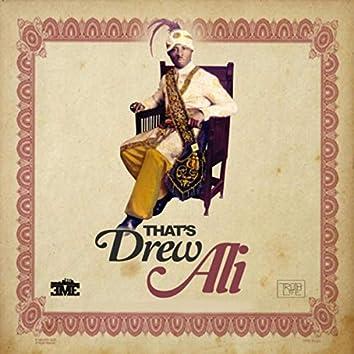 That's Drew Ali