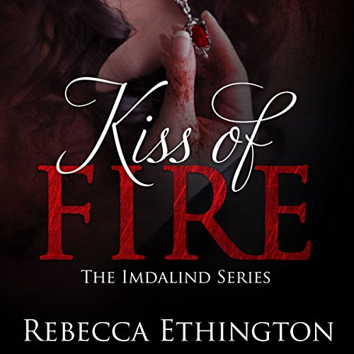 Kiss of Fire audiobook cover art